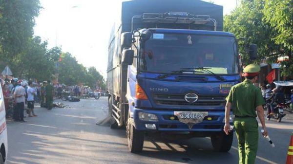 Va chạm xe máy mang biển số Quảng Bình, một người tử vong