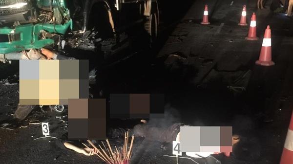Tai nạn giao thông kinh hoàng, 4 học sinh Quảng Trị tử vong