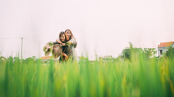 Đồng quê Bố Trạch tuyệt đẹp trong bộ ảnh chia tay cô bạn thân 8 năm đi du học