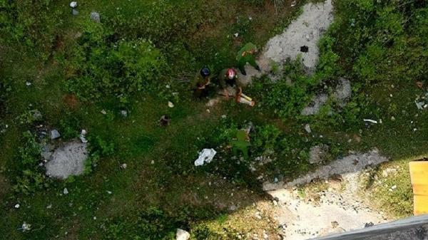 Quảng Bình: Phát hiện thi thể nam thanh niên chết bất thường dưới chân cầu Quảng Hóa