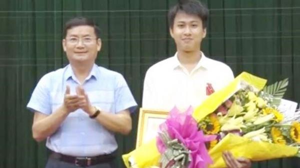 'Chàng trai vàng' Quảng Bình nhận Huân chương Lao động hạng Ba