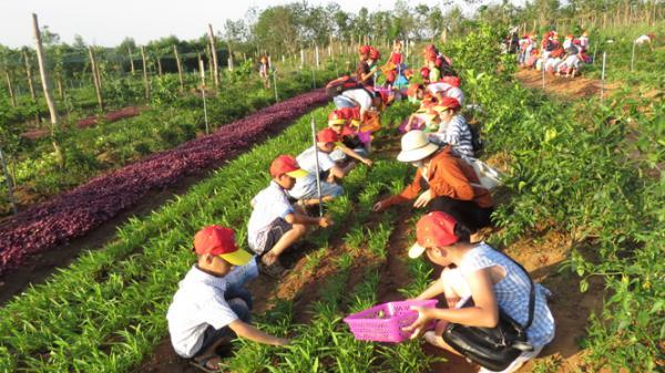 Học sinh Quảng Bình với 'Hành trang nông dân 4.0'