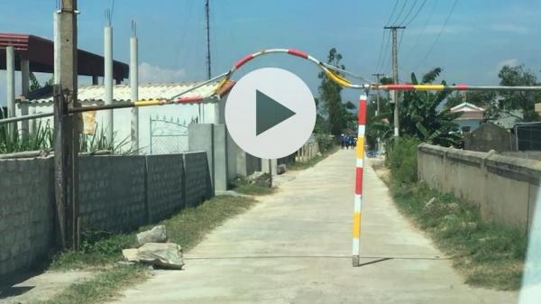Quảng Bình: Người dân Xã Quảng Phú huyện Quảng Trạch tự ý lập trạm 'BOT' để trục lợi