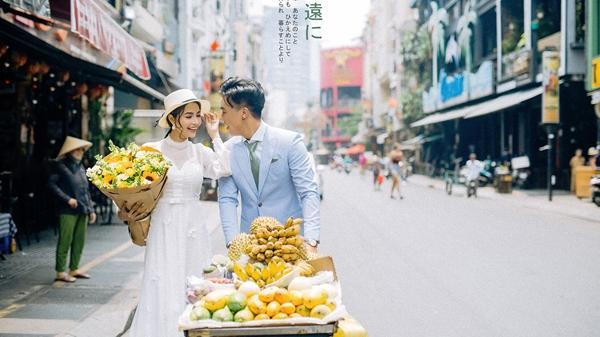 Tiểu thư Sài thành trúng 'tiếng sét ái tình' với chàng trai bán hoa quả