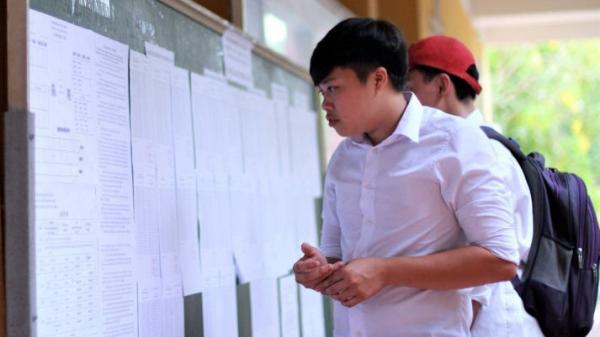 Chiều nay Bộ Giáo dục gửi dữ liệu cho các trường để công bố điểm chuẩn