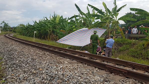 Quảng Bình: Một thanh niên bị tàu hỏa cán chết chưa rõ danh tính