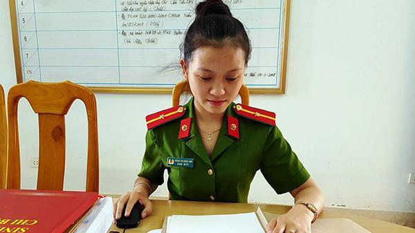 Nữ Cảnh sát phòng cháy chữa cháy Quảng Bình có duyên với những giải thưởng