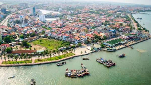 Ngắm thành phố Đồng Hới tuyệt đẹp từ trên cao
