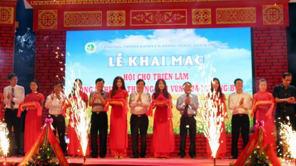 Quảng Bình: Khai mạc hội chợ triển lãm nông nghiệp - thương mại khu vực Bắc Trung bộ