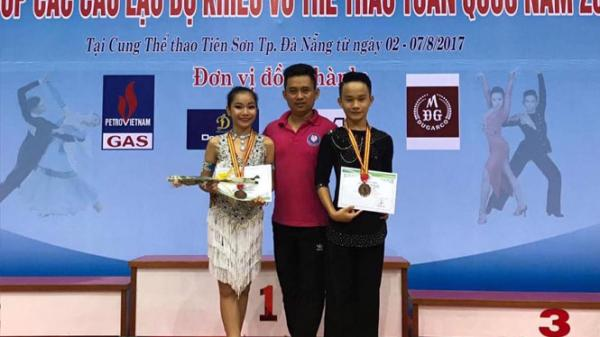 Quảng Bình giành giải B Thanh niên tại Giải khiêu vũ thể thao toàn quốc 2017