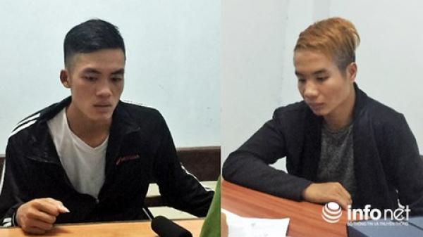Bắt hai đối tượng từ Quảng Bình vào Đà Nẵng cướp xe máy của tài xế chạy Grab
