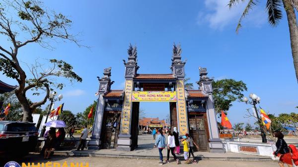 Quảng Bình: Chùa Hoằng Phúc, địa điểm du lịch tâm linh hấp dẫn