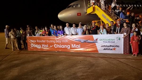 Quảng Bình: Khai trương chuyến bay quốc tế đầu tiên