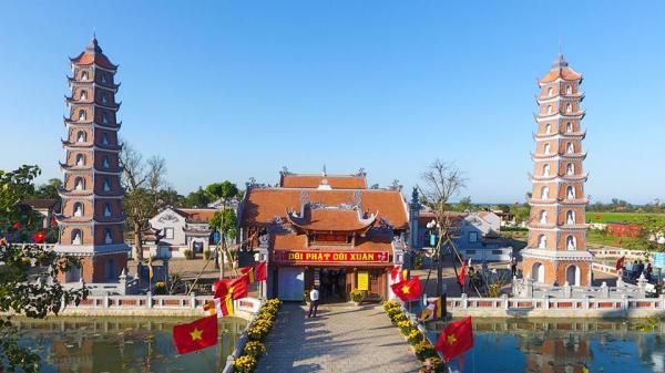 Về Quảng Bình nhớ ghé thăm ngôi chùa cổ...