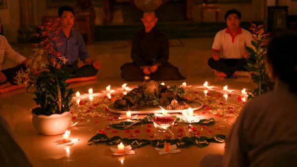 Tĩnh tâm trải nghiệm thiền trà tại ngôi cổ tự lâu đời nhất Quảng Bình