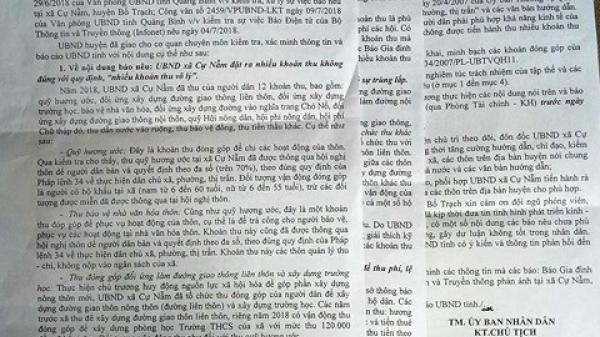 """Quảng Bình: Làm rõ vụ """"trẻ 6 tuổi cõng phí"""" để xã về đích Nông thôn mới"""