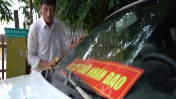 Xe cấp cứu miễn phí nơi miền quê nghèo ở Quảng Bình