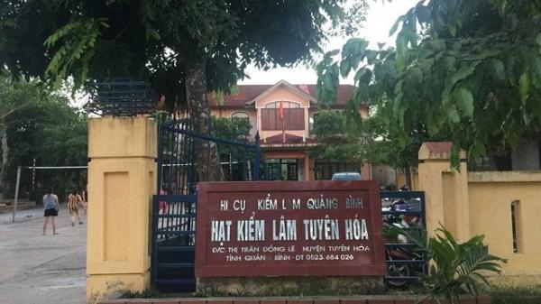 Quảng Bình: Hạt trưởng kiểm lâm bị đánh trọng thương ở trụ sở