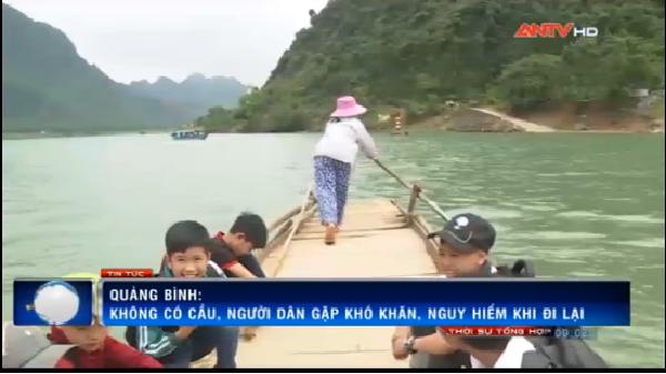 Người dân thôn Trằm Mé khát vọng một cây cầu kiên cố