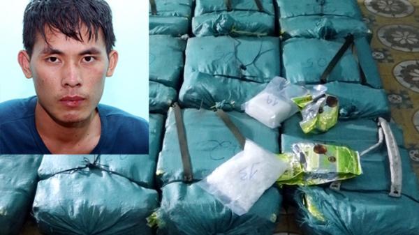 Khởi tố vụ án và bị can vụ vận chuyển 308,6kg ma túy đá