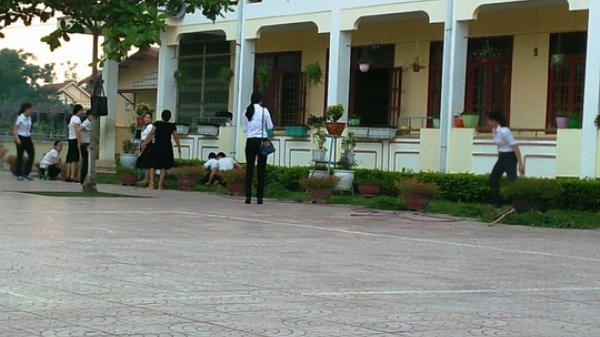 Quảng Bình: Nam giáo viên mang dao xông vào trường đánh 2 nữ giáo viên bị thương