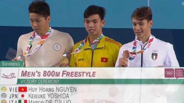 Quảng Bình khen thưởng kình ngư đạt HCV tại Olympic trẻ 2018