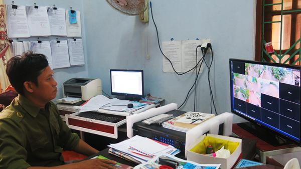 Quảng Bình: Camera an ninh được lắp đặt ở nông thôn