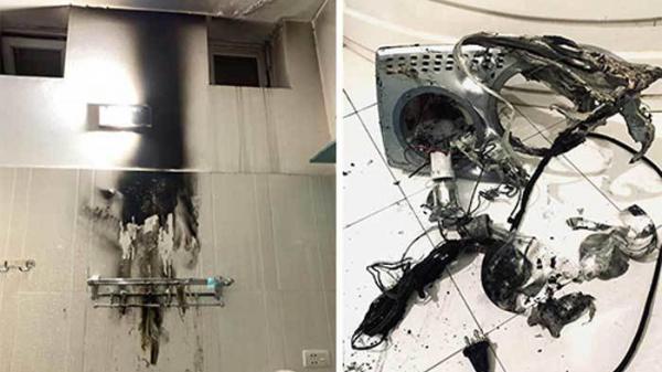Đèn sưởi nhà tắm phát nổ: 'Quả b.om' ng.uy h.iểm khó lường