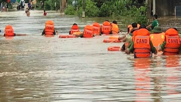 Cảnh báo nguy cơ lũ cục bộ và lụt từ Quảng Bình đến Phú Yên
