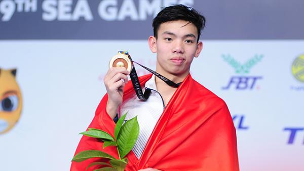 Sau Quang Hải, vận động viên Quảng Bình Nguyễn Huy Hoàng đứng thứ 3 trong cuộc bầu chọn VĐV xuất sắc nhất năm 2018