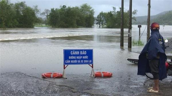 Khu vực Trung Bộ có mưa lớn, nguy cơ lũ quét trong đợt nghỉ lễ