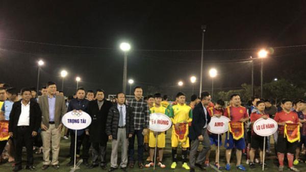 Giải bóng đá Cup Hiệp hội Du lịch Quảng Bình thu hút hơn 160 cầu thủ tham gia