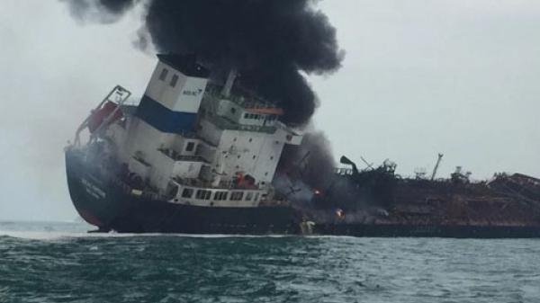 Danh sách 25 thuyền viên Việt Nam trên tàu bị cháy ở Hong Kong