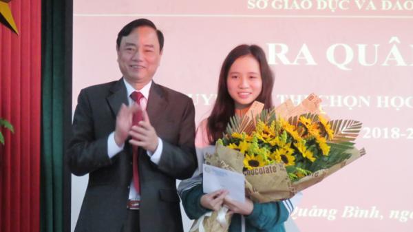Quảng Bình: Ra quân đội tuyển dự kỳ thi học sinh giỏi Quốc gia năm học 2018-2019