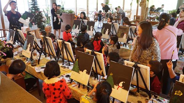 Ohana - Lớp dạy vẽ độc đáo ở TP Đồng Hới