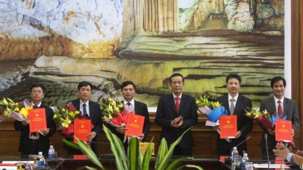 Quảng Bình: Công bố, trao quyết định cho 5 cán bộ được bổ nhiệm