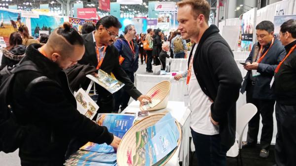 Giới thiệu hình ảnh Quảng Bình tại hội chợ du lịch thường niên lớn nhất của Hoa Kỳ