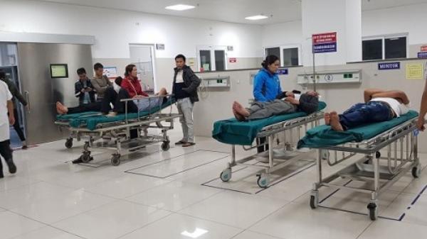 Quảng Bình: Hàng loạt tai nạn ng,uy kịch do nổ pháo phải nhập viện đêm 30 Tết