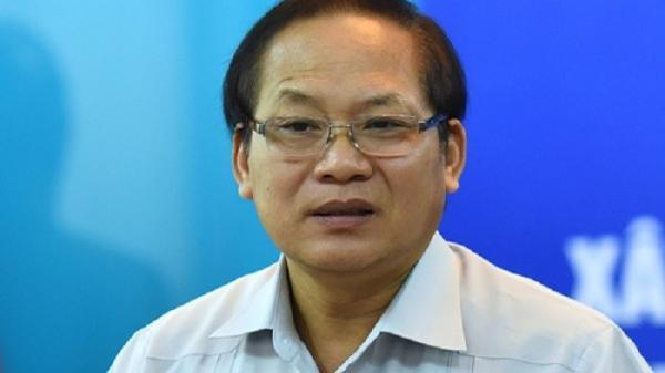 B,ắt tạm gi,am cựu Bộ trưởng Bộ Thông tin Truyền thông Trương Minh Tuấn