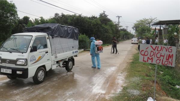 Quảng Bình: Nỗ lực ngăn chặn dịch
