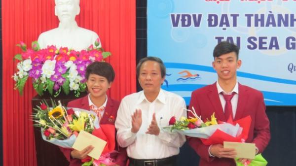 """Vinh danh 2 vận động viên """"chân đất"""" dành HCV Sea Games 29"""