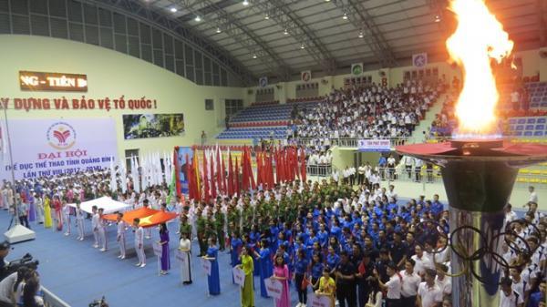 Khai mạc Đại hội Thể dục Thể thao tỉnh Quảng Bình lần thứ VIII