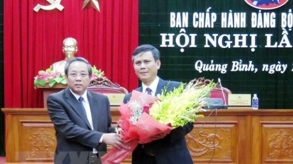 Ông Trần Thắng được bầu làm Phó Bí thư Thường trực Tỉnh ủy Quảng Bình