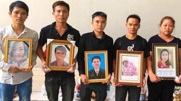 Đưa thi th ể 2 n ạn nhân quê ở Quảng Bình từ Thái Lan về Việt Nam
