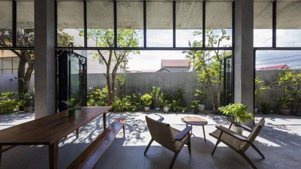 Ngắm nhà đơn lập mộc mạc ở Quảng Bình đạt giải kiến trúc quốc gia