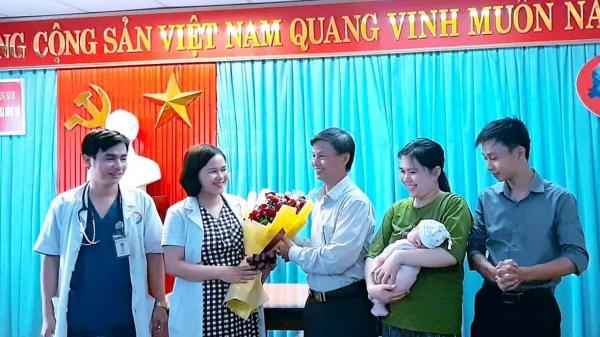 Bệnh viện hữu nghị Việt Nam-Cuba Đồng Hới đã nuôi dưỡng thành công cháu bé sơ sinh đẻ non chỉ nặng 740g