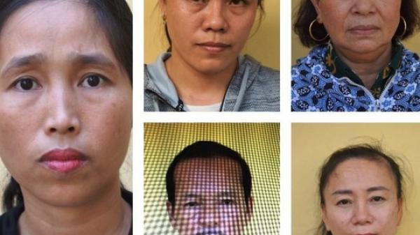 Nhóm quý bà điều hành đường dây lô đ ề ở Quảng Bình sa l ưới công an