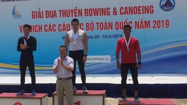 Đội tuyển Đua thuyền tỉnh Quảng Bình giành 07 Huy chương tại Giải Rowing - Canoeing Vô địch các câu lạc bộ toàn quốc năm 2019
