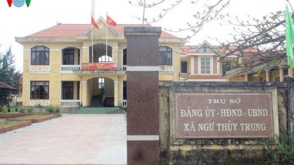 Kỷ luật cảnh cáo Bí thư Đảng ủy xã Ngư Thủy Trung