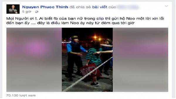 Fan nữ khóc nức nở vì không được vào xem Noo Phước Thịnh biểu diễn